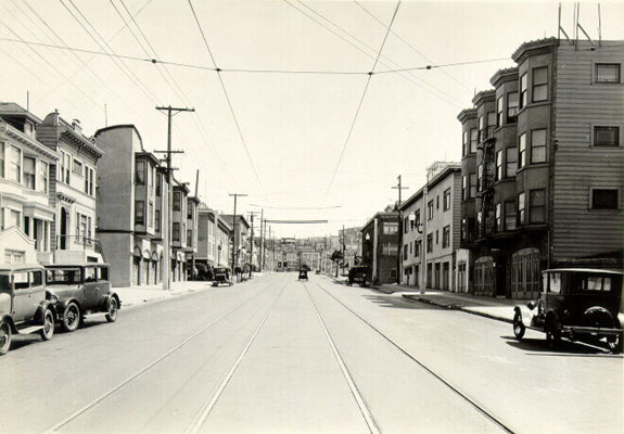 Irving St between 3rd & 4th Avenues (1929)